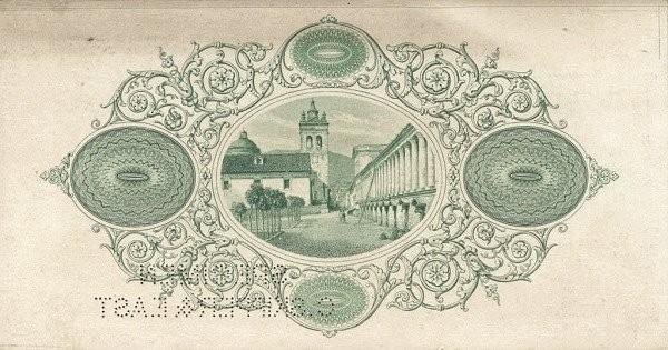 Ecuador 1 Peso (1874-1878 Banco de Quito-Commercial Banks)