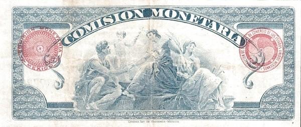 Mexico 1 Peso (1920 Comisión Montaria)