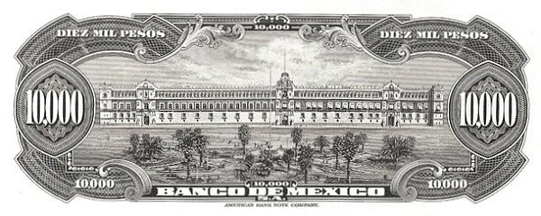 Mexico 10000 Pesos (1942 Banco de México)