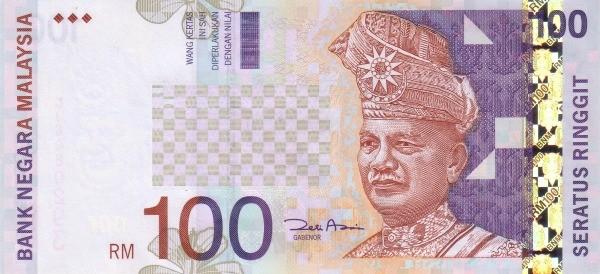 Malaysia 100 Ringgit (1996-2001)