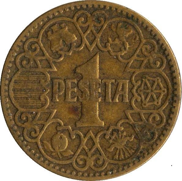 Spain 1 Peseta (1944)