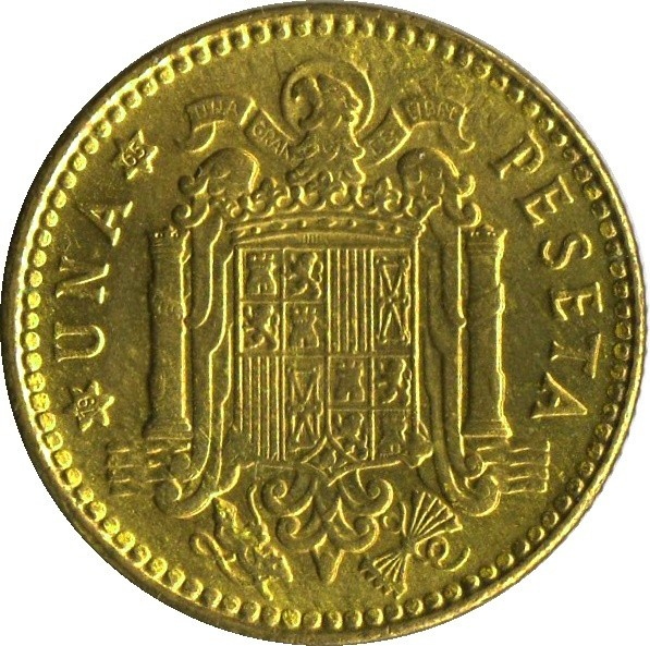 Spain 1 Peseta (1946-1963)
