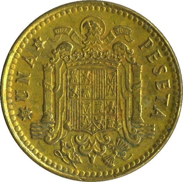 Spain 1 Peseta (1975)