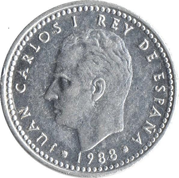 Spain 1 Peseta (1982-1989)