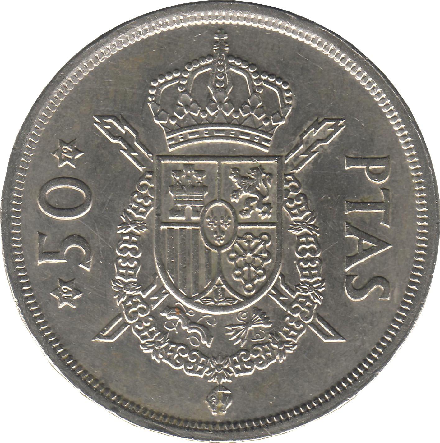 Spain 50 Pesetas (1975)