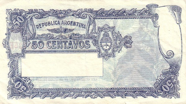"Argentina 50 Centavos (1948-1951 ""Ley 12.962 / 28.03.1947"")"
