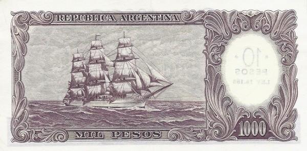 Argentina 10 Pesos (1969)