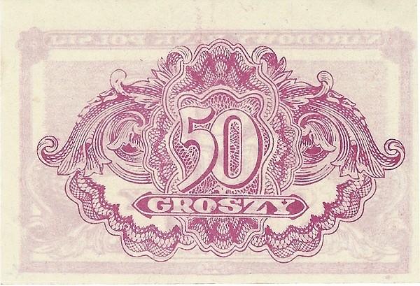 Poland 50 Groszy (1944)