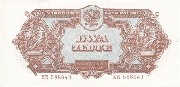 Poland 2 Złote (1944)