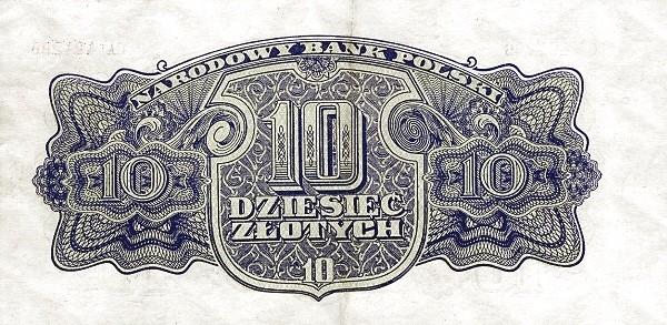 Poland 10 Złotych (1944)