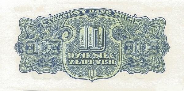 Poland 10 Złotych (1944-2)