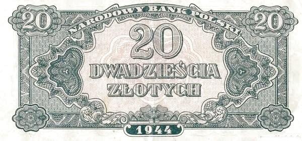 Poland 20 Złotych (1944)