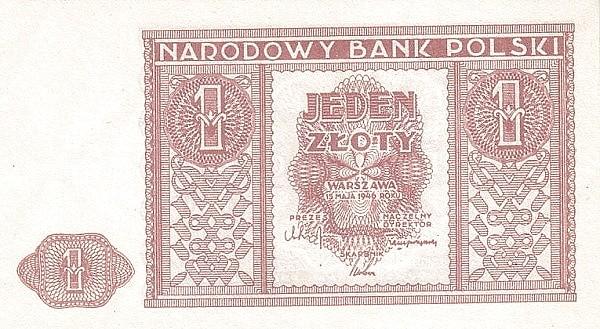 Poland 1 Złoty (1946)