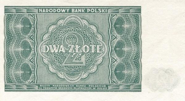 Poland 2 Złote (1946)
