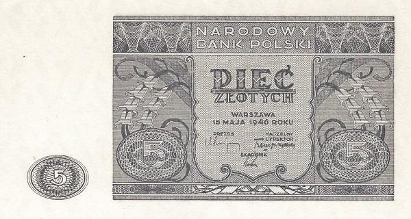 Poland 5 Złotych (1946)