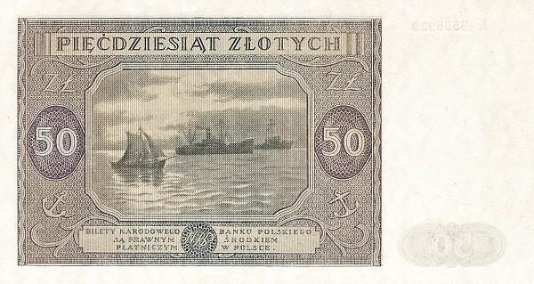 Poland 50 Złotych (1946)