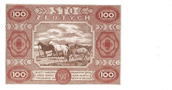 Poland 100 Złotych (1947)