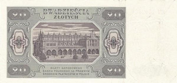 Poland 20 Złotych (1948)