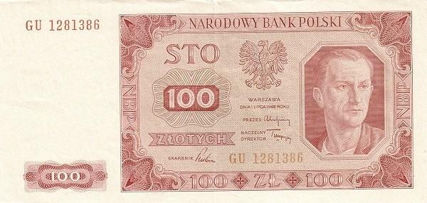 Poland 100 Złotych (1948)