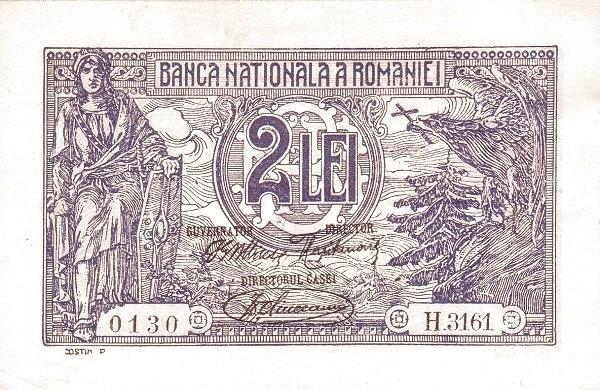 Romania 2 Leui (1920)