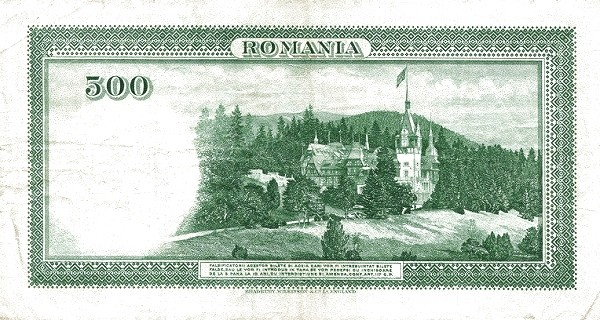 Romania 500 Lei (1934)