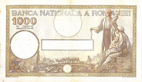 Romania 1000 Lei (1934)