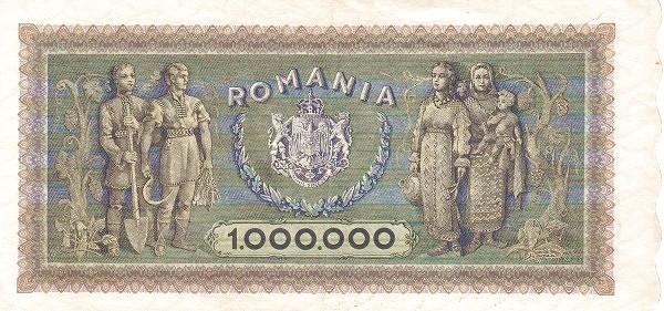 Romania 1000000 Lei (1943-1947)
