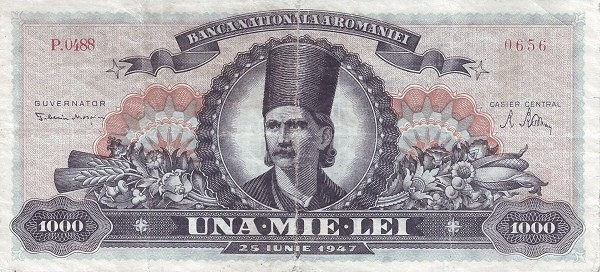 Romania 1000 Lei (1947)