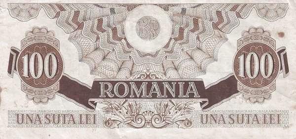 Romania 100 Lei (1947 Second Issue)