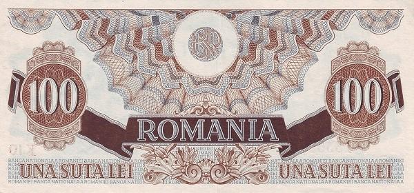 Romania 100 Lei (1947 Second Issue-2)