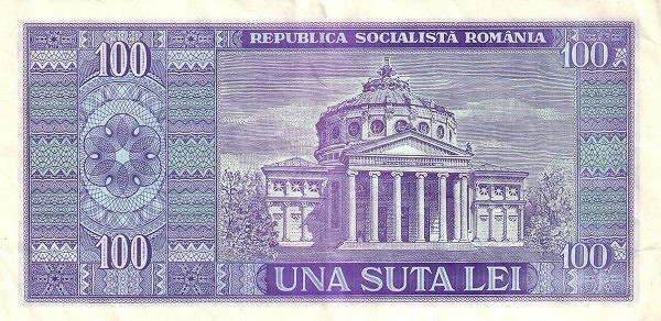 Romania 100 Lei (1966)