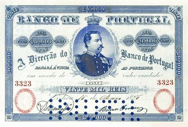 Portugal 20000 Réis (1891)
