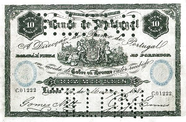 Portugal 10000 Réis (1879-1881)