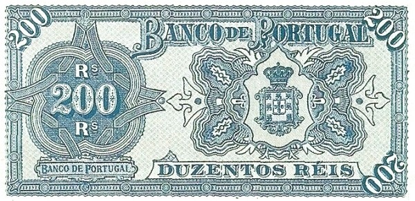 Portugal 200 Réis (1890-1891)