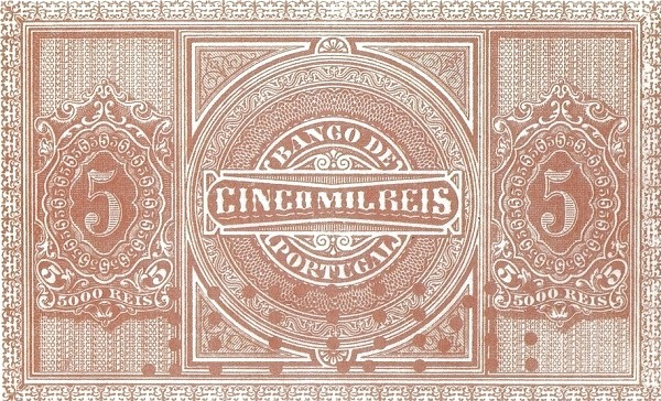 Portugal 5000 Réis (1890-1891)