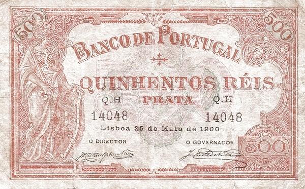 Portugal 500 Réis (1893-1909)