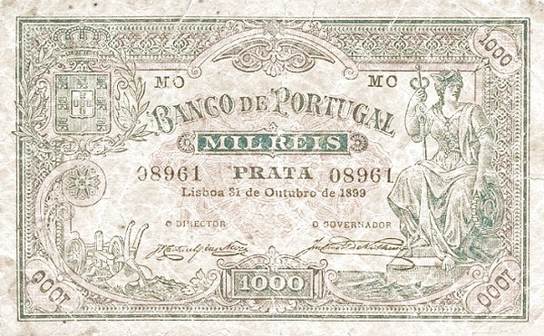 Portugal 1000 Réis (1893-1909)