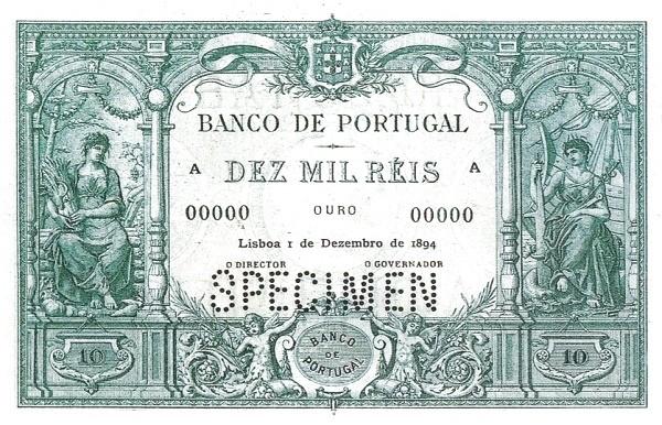 Portugal 10000 Réis (1893-1909)