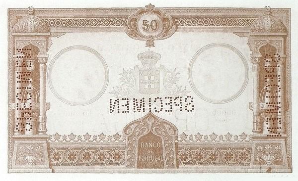 Portugal 50000 Réis (1893-1909)
