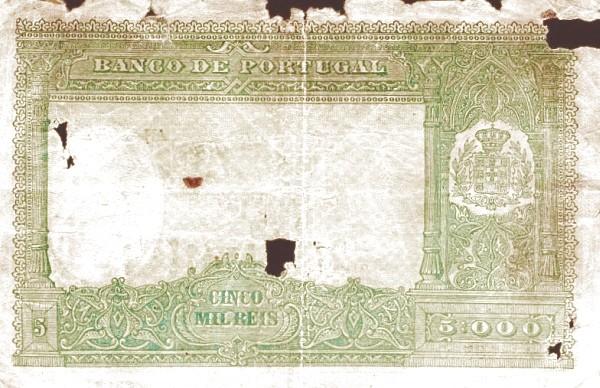 Portugal 5000 Réis (1901-1909)