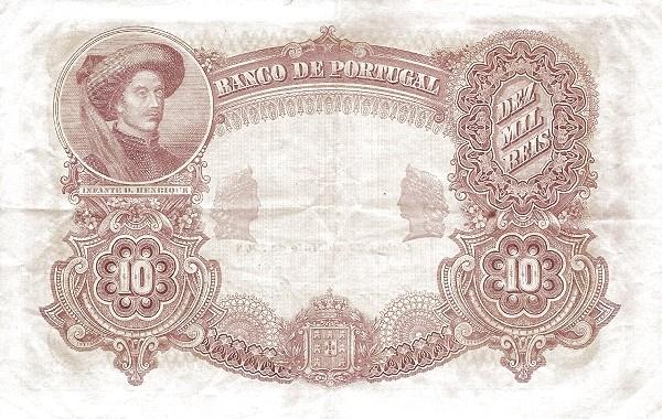 Portugal 10000 Réis (1901-1909)