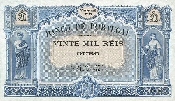 Portugal 20000 Réis (1901-1909)