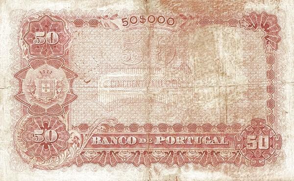 Portugal 50000 Réis (1903-1910)