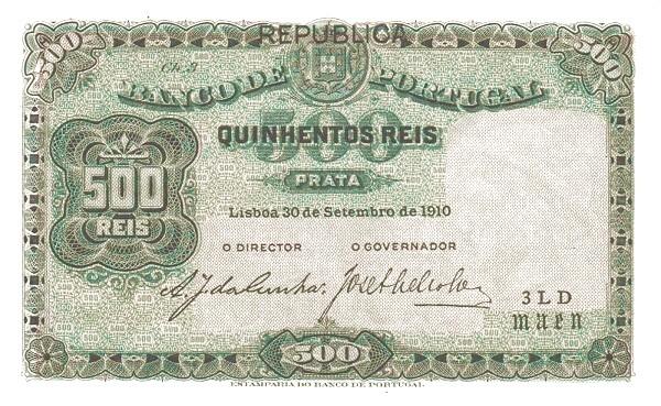 Portugal 500 Réis (1916-1919)