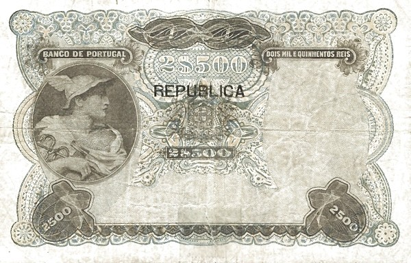 Portugal 2500 Réis (1916-1919)
