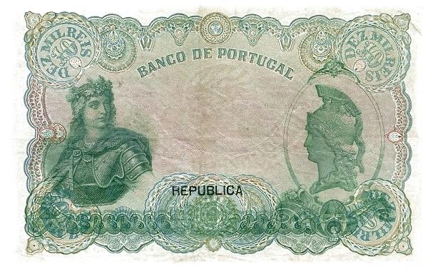 Portugal 10000 Réis (1916-1919)