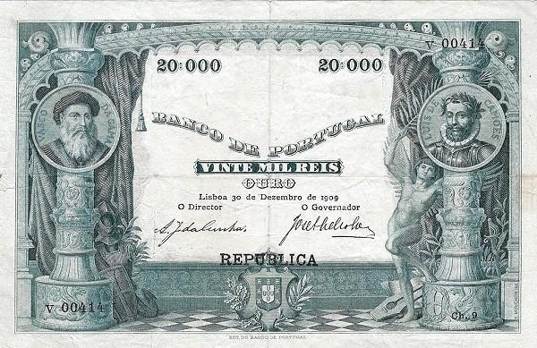 Portugal 20000 Réis (1916-1919)