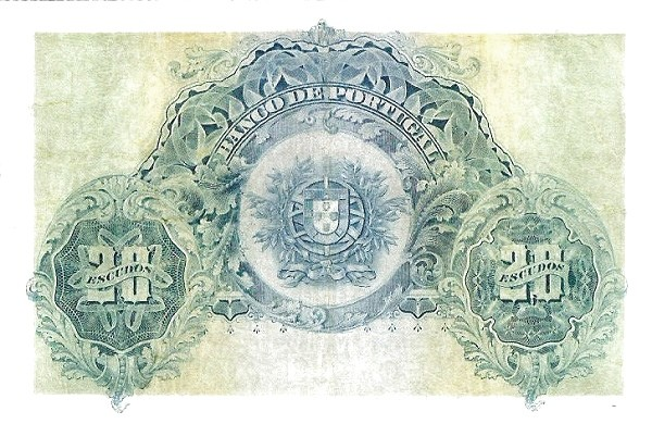 Portugal 20 Escudos (1913-1923 Escudo Ouro)