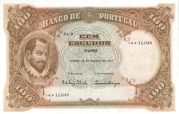 Portugal 100 Escudos (1920-1928)