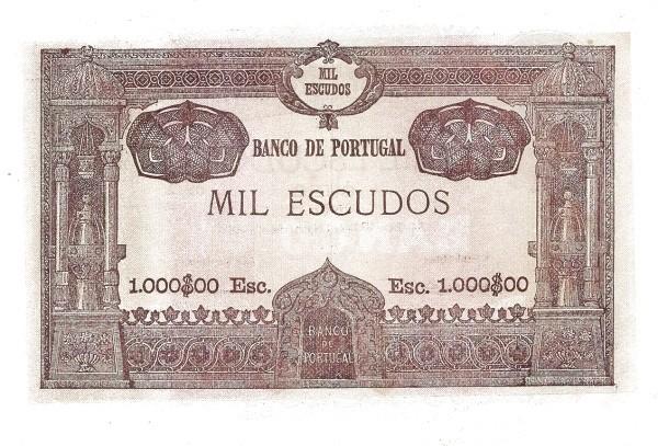 Portugal 1000 Escudos (1920-1928)